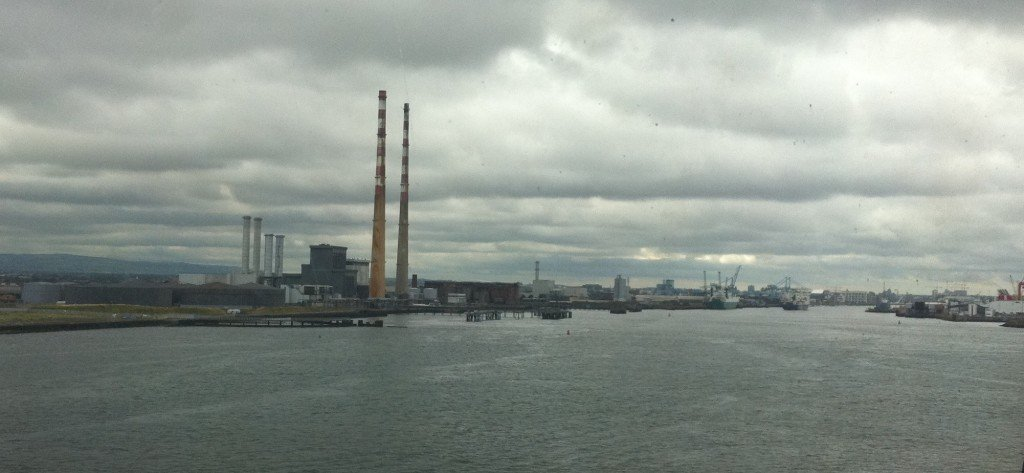 The View Heading into Dublin Bay