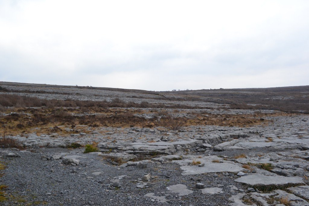 The Burren in the West of Ireland